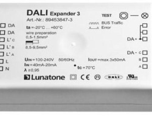 Focus Produit : DALI Expander 3 – Dali sans paramétrage
